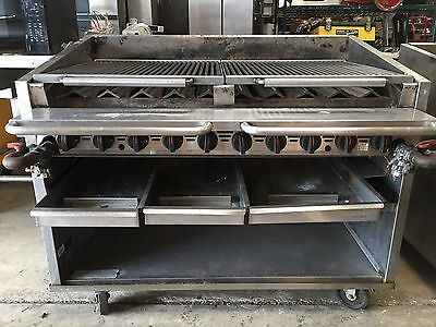 Magic Kitchen 48 Inch Radiant Grill
