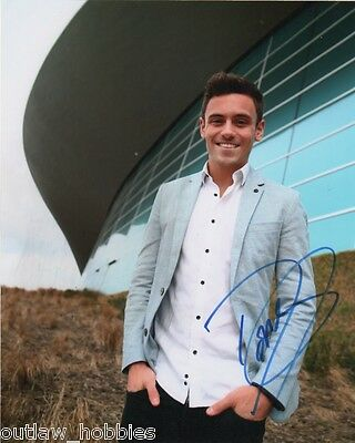 Tom Daley Diving Autographed Signed 8x10 Photo COA #10