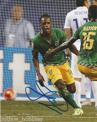 Jamaica Darren Mattocks Autographed Signed 8x10 Photo COA