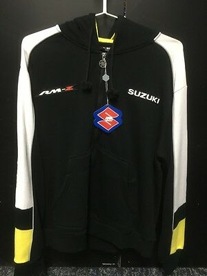 Genuine Suzuki RM-Z Zip Hoody Black/Yellow adults X-Large