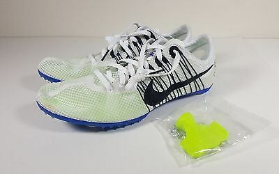 more photos 76a69 a57d9 Nike Zoom Victory 2 Track Field Mens Distance Shoes White Black Size 11.5