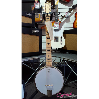 Deering Goodtime Open Back Six String Guitar Banjo Ganjo Made in U.S.A