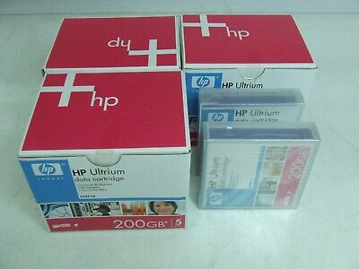 17 x New HP Ultrium Data Cartridge 200GB - C7971A Tapes *New*
