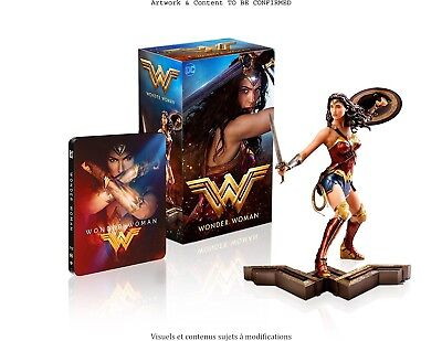 Wonder Woman Ultimate Collector's Boxset Edition Steelbook + Figure [Germany]