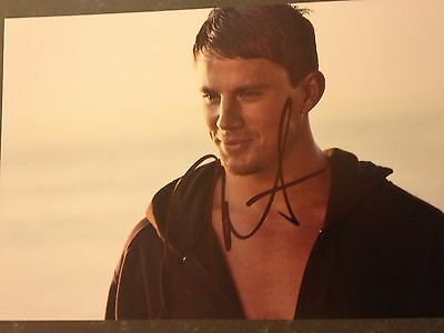 Original Autograph of Channing Tatum (In Person) Magic Mike, Foxcatcher