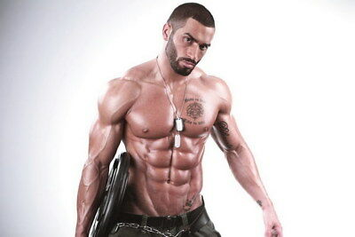 """008 Lazar Angelov - Body Building Great Muscle Player 36""""x24"""" Poster"""