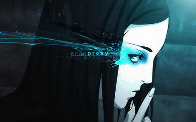 """023 Ergo Proxy - Science Fiction Fight Action Japan Anime 38""""x24"""" Poster"""
