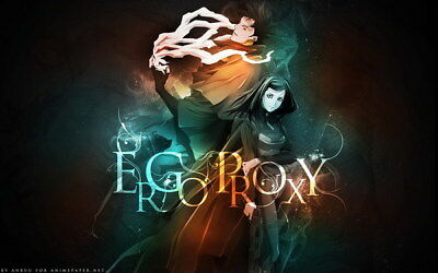 """029 Ergo Proxy - Science Fiction Fight Action Japan Anime 38""""x24"""" Poster"""