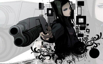"""011 Ergo Proxy - Science Fiction Fight Action Japan Anime 38""""x24"""" Poster"""