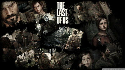 """003 The Last of Us - Zombie Survival Horror Action TV Game 42""""x24"""" Poster"""