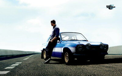 """023 Paul Walker - RIP Fast and Furious Super Movie Star 38""""x24"""" Poster"""