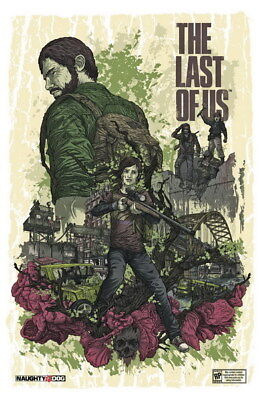 """014 The Last of Us - Zombie Survival Horror Action TV Game 24""""x36"""" Poster"""