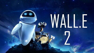 "017 WALL E - Pixar Eve Space Adventure Cartoon Movie 42""x24"" Poster"