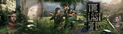 """012 The Last of Us - Zombie Survival Horror Action TV Game 85""""x24"""" Poster"""