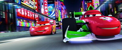 "047 Cars - Pixar Lightning McQueen Cartoon Movie 57""x24"" Poster"