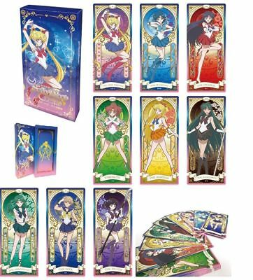 Sailor Moon Crystal Popup Store Tarot Cards Box Toei Animation Factory Sealed