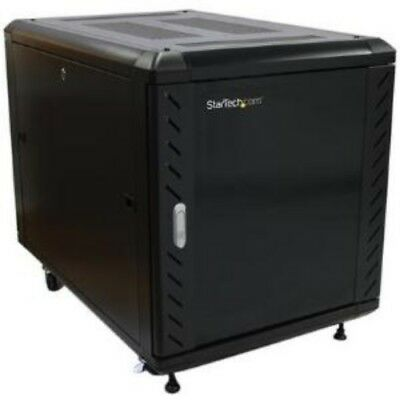 NEW STARTECH RK1236BKF 12U 36IN KNOCK-DOWN SERVER RACK CABINET....b.