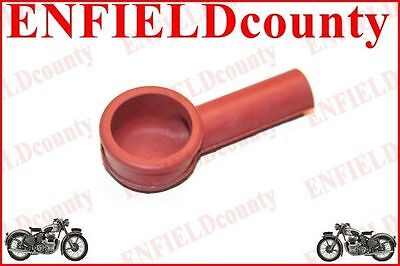 Spark Plug Rubber Cap Cover Red Colour Early Vespa Sprint Vbb Rally @cad