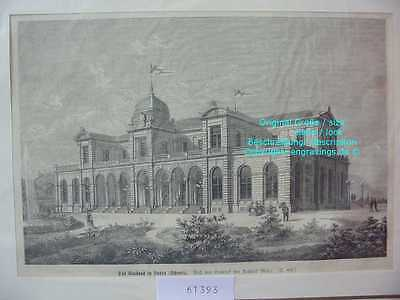 61393-Schweiz-Switzerland-Swiss-Kurhaus Baden-TH-1876