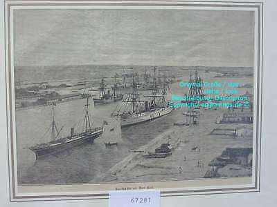 67281-Ägypten-Egypt-Suez Kanal Canal-Port Said-TH-1890
