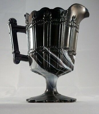 Slag Glass Jug, English, Victorian. Excellent condition
