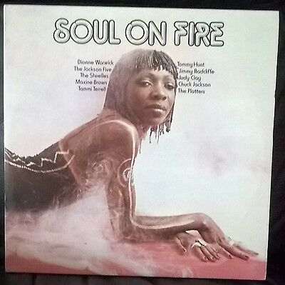 Soul On Fire - Djm Records - Northern Soul Various Artists