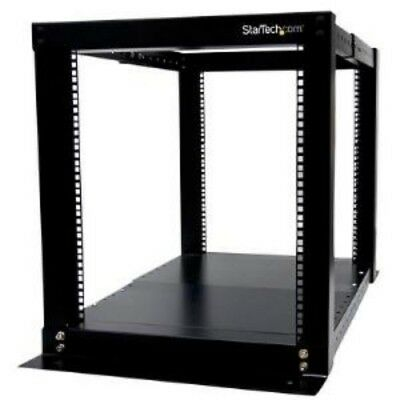 NEW STARTECH 4POSTRACK12 12U 4 POST OPEN FRAME RACK CABINET....b.