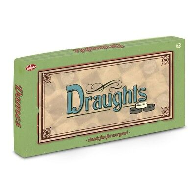 Draughts - 28337 Traditional Board Game Classic Family Kids Fun Skill Strategy