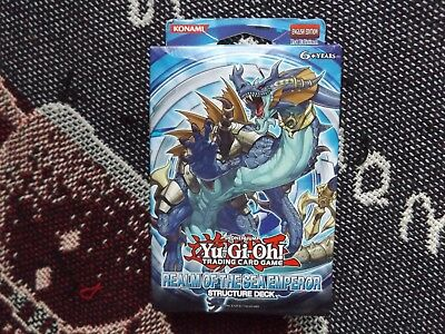 Yu-Gi-Oh! - Realm Of The Sea Emperor Structure Deck - Sealed