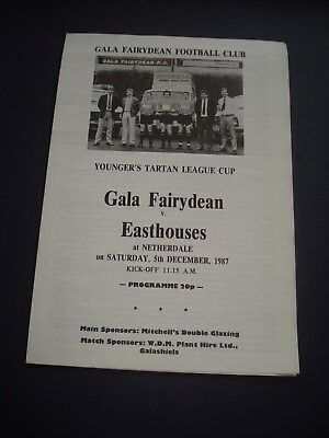 1987-88 Gala Fairydean v Easthouses (Younger's League Cup)