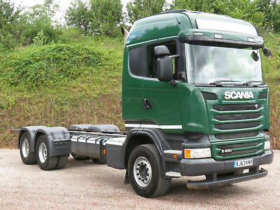 2013 63 Scania R480 Ad Blue Highline 6x4 Chassis Cab