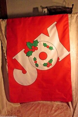 Christmas Flag Wall Decoration Joy