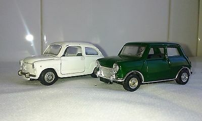 Auto Pilen - Seat 600 Y Mini Cooper 1/43  Made In Spain