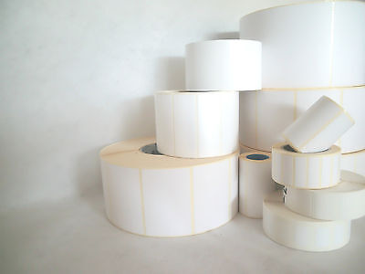1500 Labels Plastic 50, 8x25.4mm White Strong Persistent