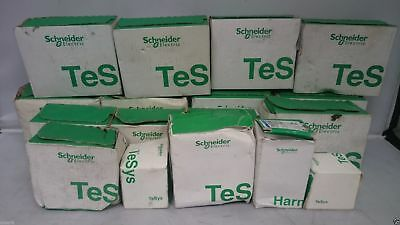 Schneider Electric - Job Lot TeSys Contractor Relay Breaker Unit Circuit Trip