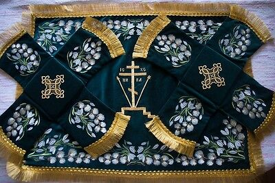 Chalice Covers Set For Sunday Of Palms Orthodox