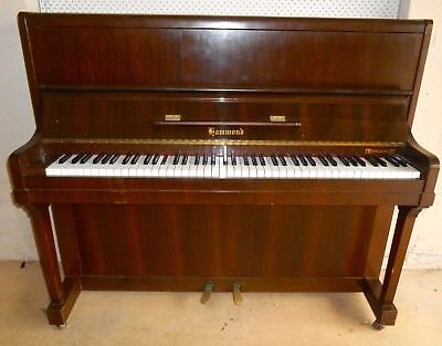 HAMMOND Vintage Upright Piano (Circa 1950s) - EUC
