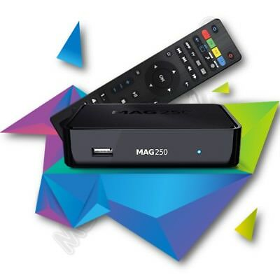 MAG 250 IPTV SET TOP BOX Multimedia player Internet TV IP Konsole USB TV POLSKA!