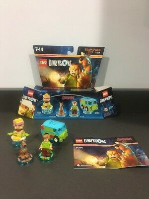 Lego Dimensions Scooby-doo Shaggy Team pack 71206 Complete With Box