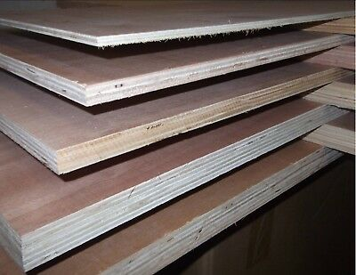 9mm Exterior Eucalyptus Plywood Hardwood Faces Various Sizes 8x4 4x4 4x2 4x1 3x3