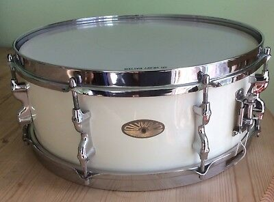 Olympic By Premier Vintage 1959/60 Transition Badge Wood Shell Snare Drum