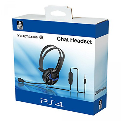 Official PS4 Wired Chat Headset