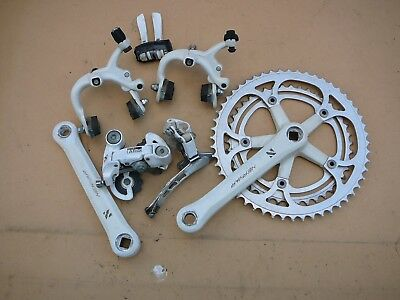 NERVAR made in France bicycle groupset for your vintage bike -crankset ,brakes .