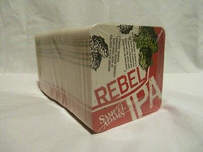 Samuel Sam Adams New Full Sleeve Of 125 Bar Rebel Ipa Beer Coasters Fast Ship!!!