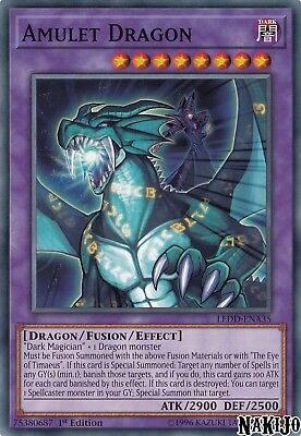Yugioh - 1x Amulet Dragon LEDD-ENA35 Common - 1st Ed - NM/M