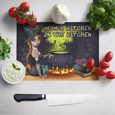 Witch Cooking, Cutting Board / Counter Saver / Chopping, Large, Personalized