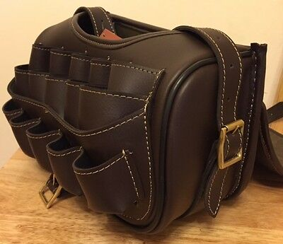 New Leather Loaders Cartridge Bag With Beautiful Design Attached Brass Buckles