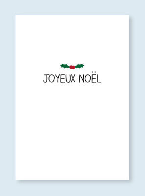 Pack of 10,A6 Christmas Cards with envelopes,Excellent quality,Joyeux Noel 11