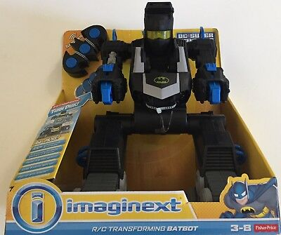 Fisher-Price Imaginext Batbot Full-function Remote Control Eyes Brand New Sealed