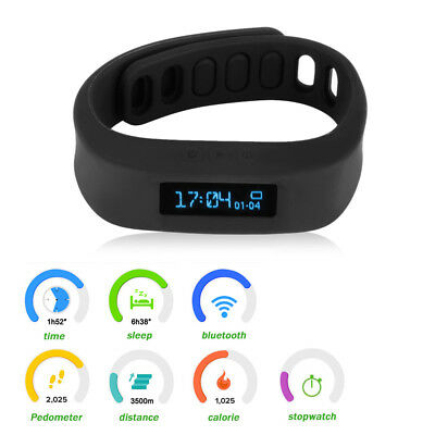 Smart Watch Healthy Bracelet Bluetooth Wrist Fitness Tracker For iPhone Android
